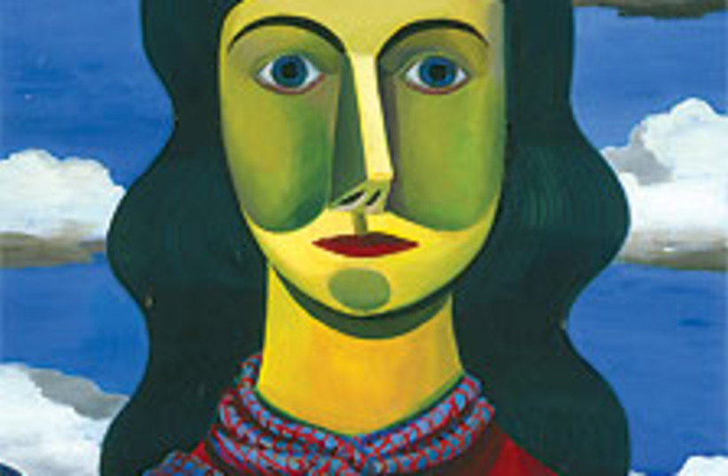 Young Woman paint 88 224 (photo credit: Sommer Contemporary Art, Tel Aviv)