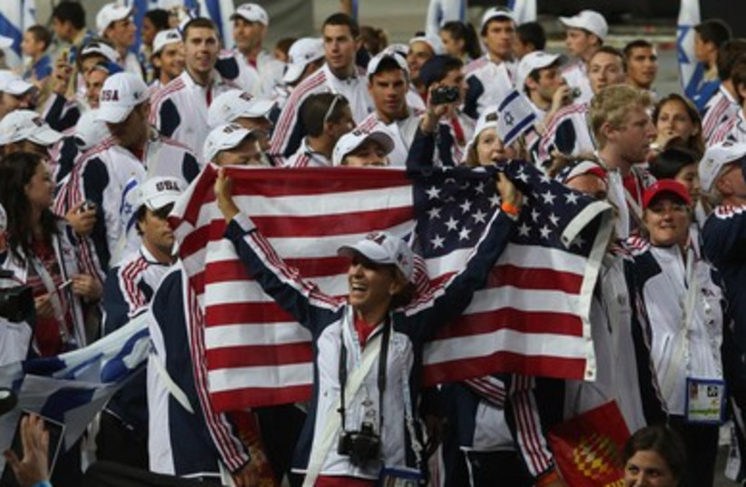 Opening ceremony of the 19th Maccabiah Games.