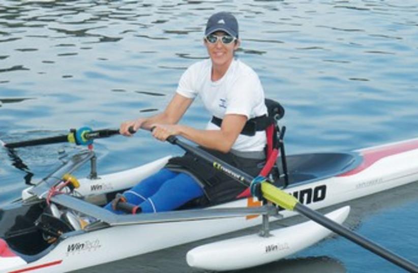 Moran Samuel paralympic champion 370 (photo credit: Daniel Rowing Center and Adi Adamit)