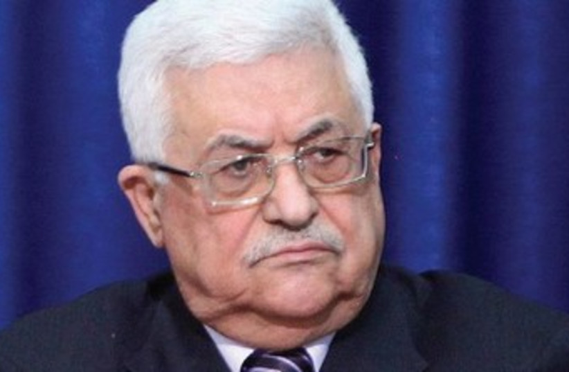 Palestinian Authority President Mahmoud Abbas. (photo credit: Marc Israel Sellem/The Jerusalem Post)
