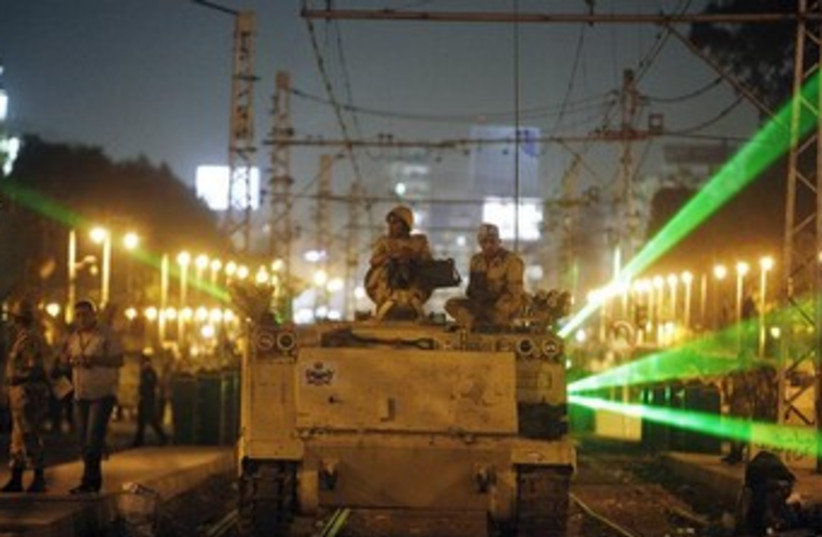 Egyptian Army (photo credit: Reuters)