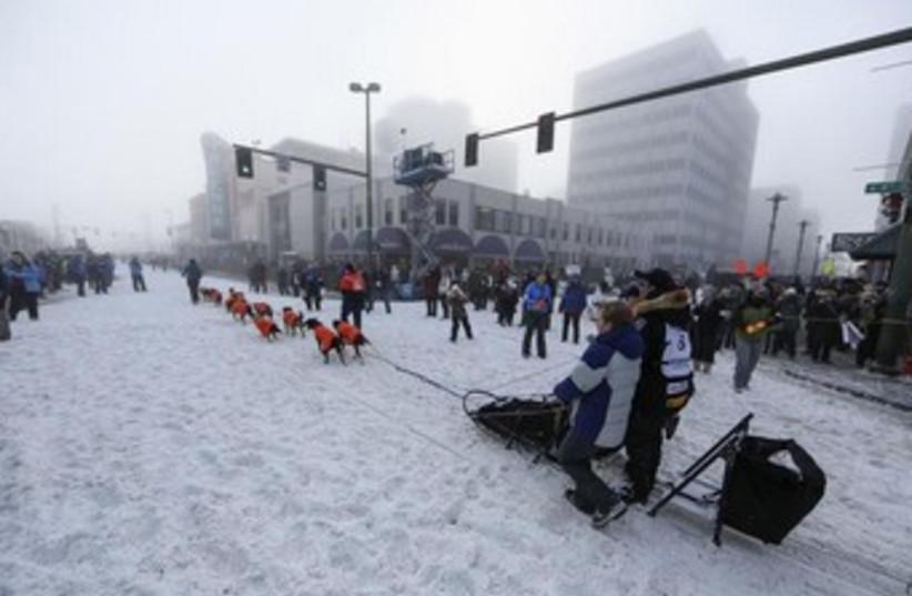 Downtown Anchorage, Alaska 370 (photo credit: REUTERS)