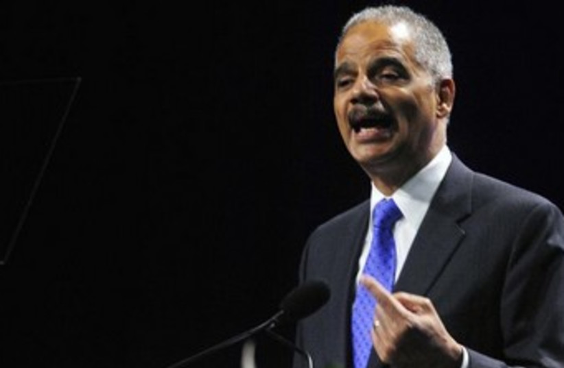 US Attorney General Eric Holder 370 (photo credit: REUTERS)