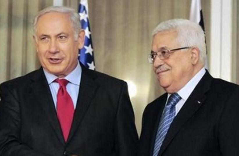 Abbas and Netanyahu 2010 370 (photo credit: REUTERS)