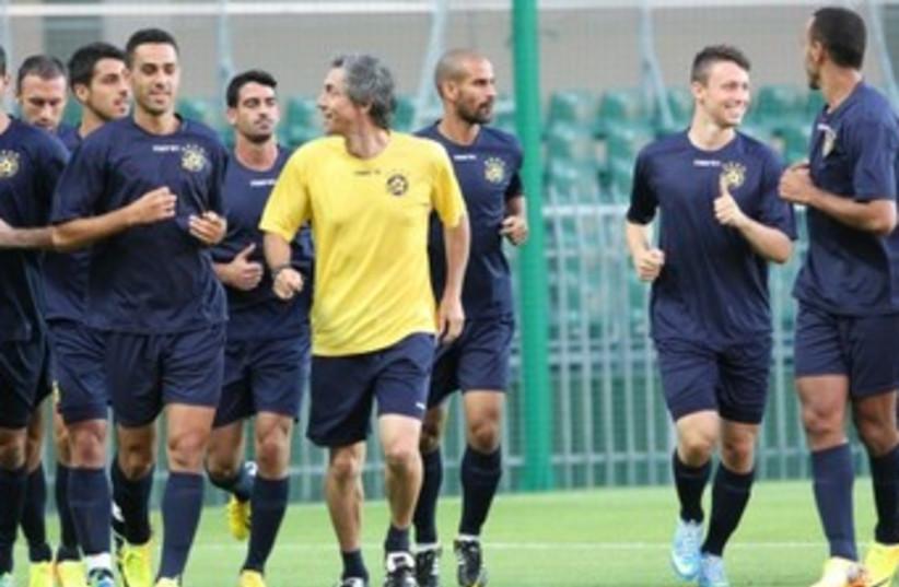 Maccabi Tel Aviv Champions 370 (photo credit: Maccabi Tel Aviv website )