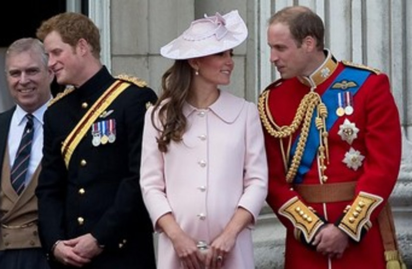 Kate and Will 370 (photo credit: REUTERS/Paul Hackett )