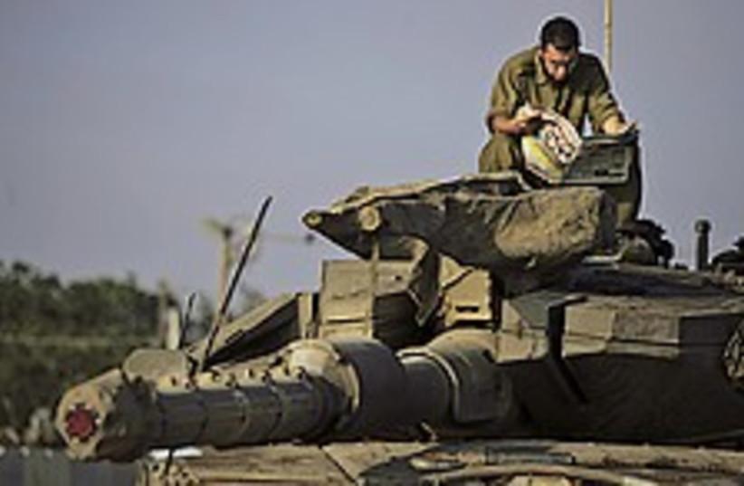 tank idf calm 224.88 (photo credit: )