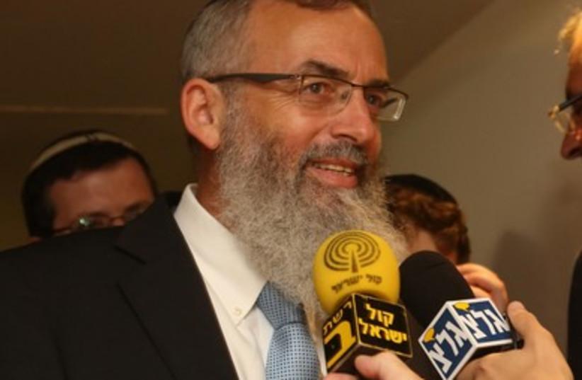 Rabbi David Stav, July 24, 2013.