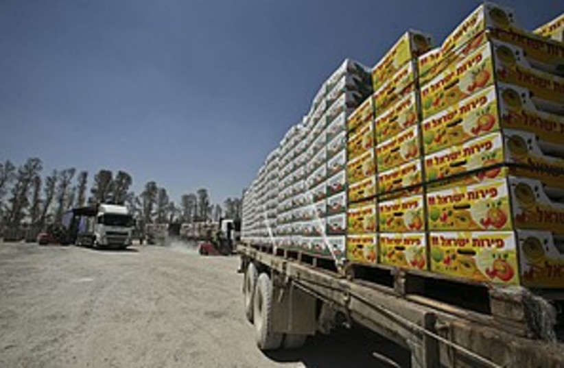 supplies truck 298.88 (photo credit: )