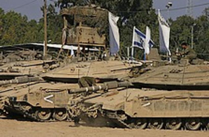 tanks chillin 224.88 (photo credit: )