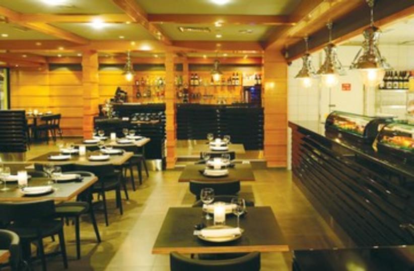 Yakimono kosher sushi restaurant at Royal Beach, Eilat  (photo credit: Courtesy)