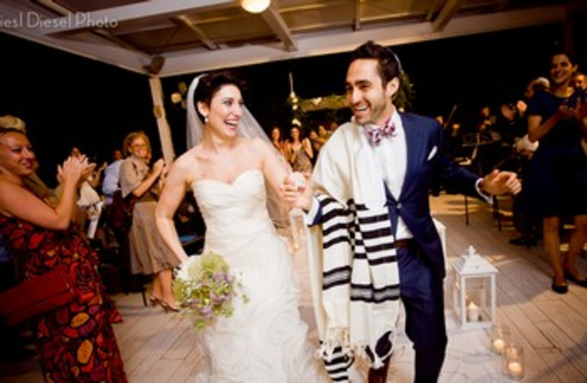 Jenna and David's wedding (photo credit:  Liesl Diesel)
