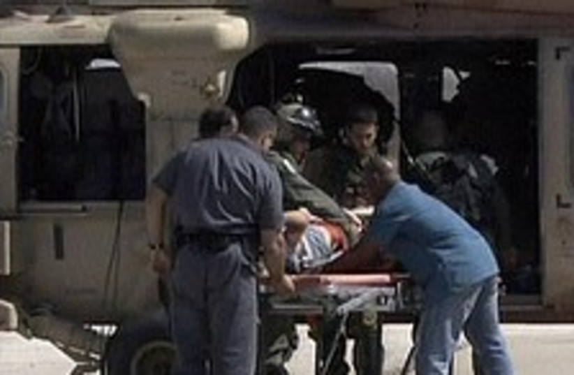 wounded hikers 224.88 (photo credit: Channel 2)