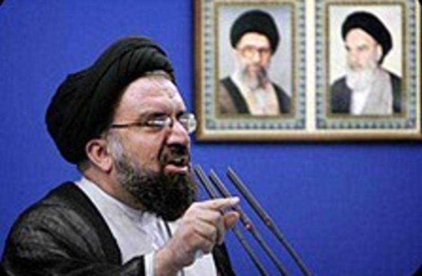 Ahmad Khatami 224.88 (photo credit: Courtesy)