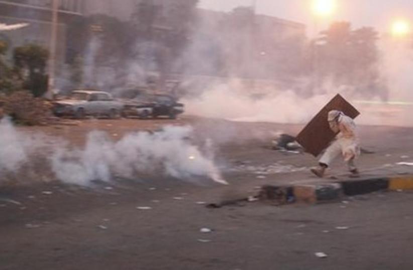Egypt protest scene390 (photo credit: REUTERS)