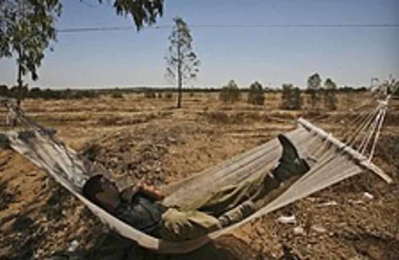 idf hammock 224 88 (photo credit: AP [file])