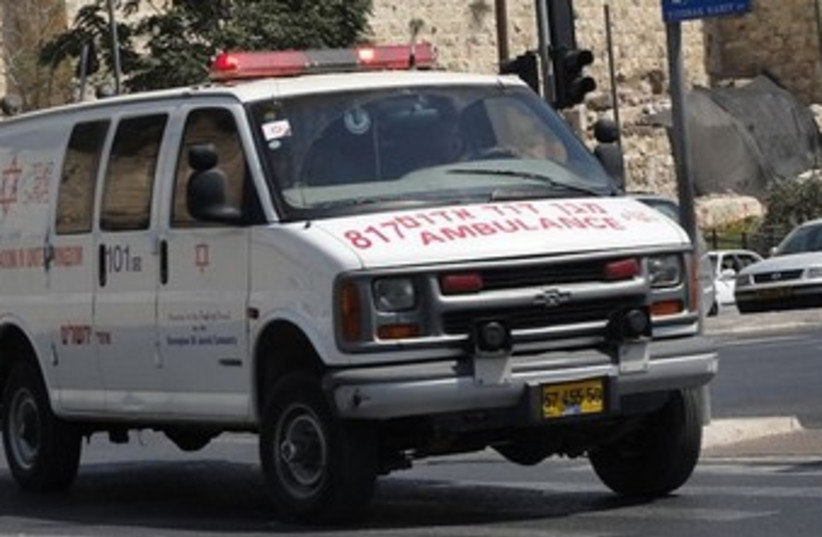MDA Ambulance (photo credit: WIkicommons)