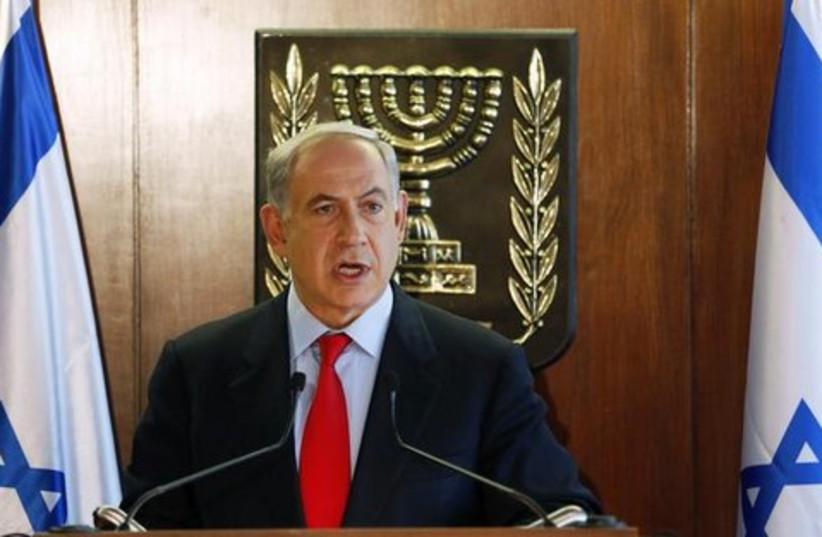 Israeli Prime Minister Benjamin Netanyahu (photo credit: REUTERS/Baz Ratner )