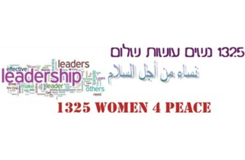 Resolution 1325 - Female Leaders for Peace and Security 370 (photo credit: Courtesy)