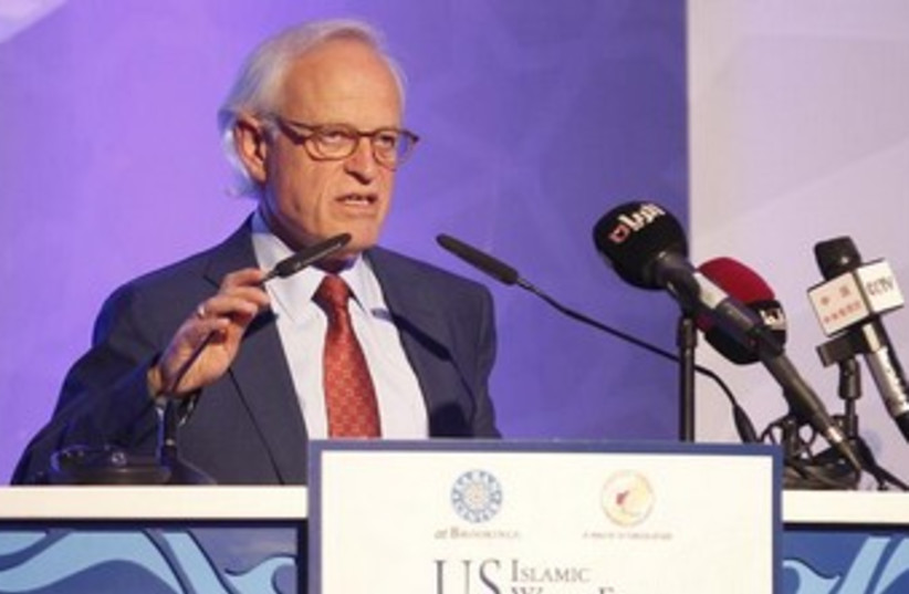 US envoy to the Middle East Martin Indyk. (photo credit: Reuters)