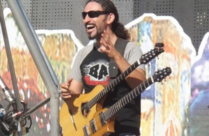 Orphaned Land guitarist Yossi Sassi 370 (photo credit: Sammy Hudes)