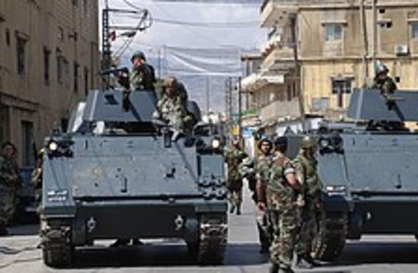 lebanese army 224 88 (photo credit: AP)