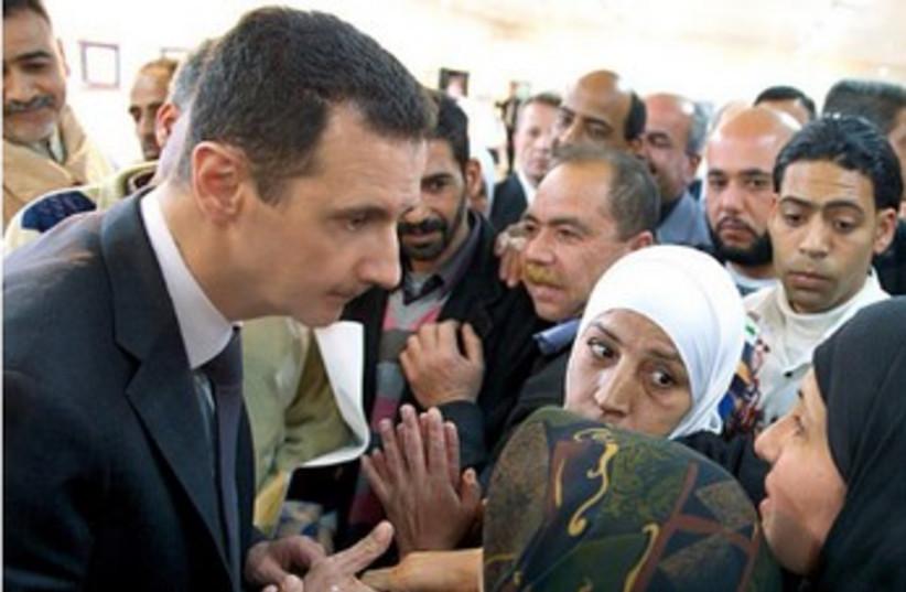 Assad on Instagram 370 (photo credit: Instagram)