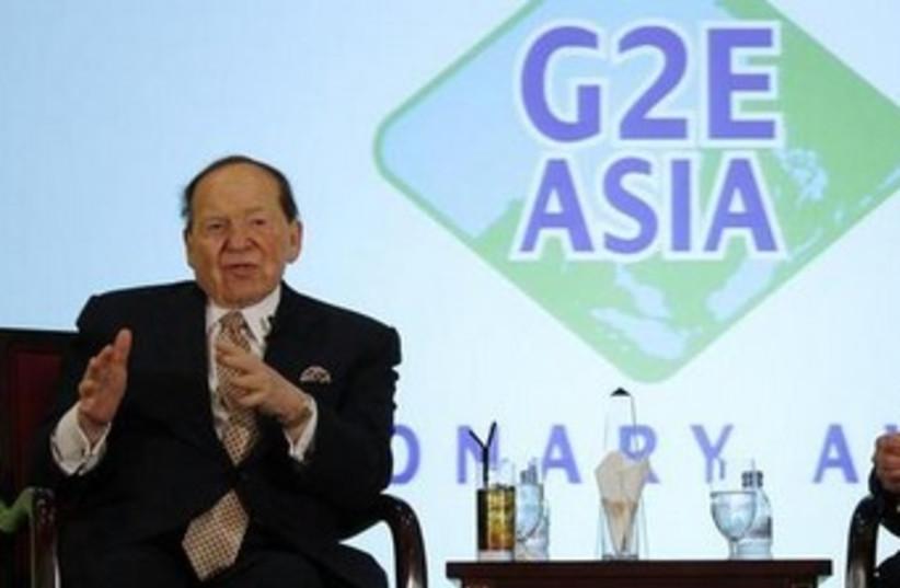 Sheldon Adelson 370 (photo credit: REUTERS)