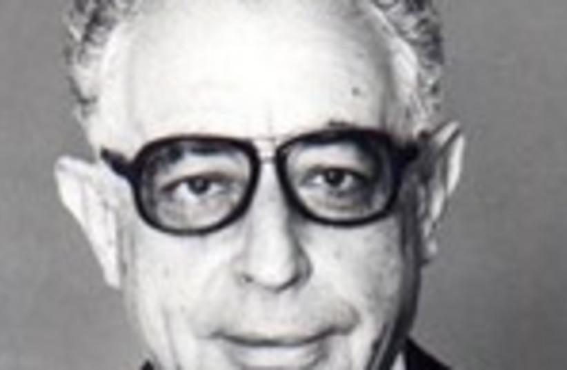 Yitzhak Berman 150 (photo credit: Courtesy of Knesset)