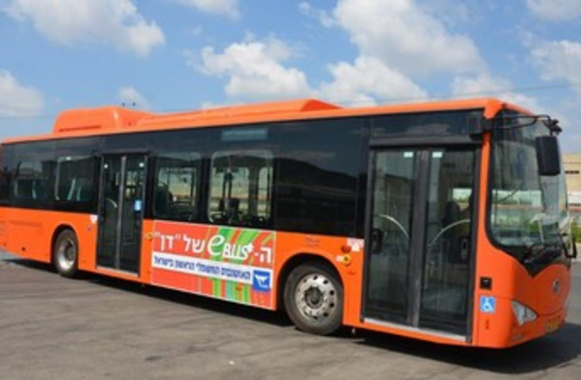 Electric bus 307 (photo credit: Courtesy)