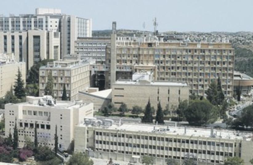 Hebrew University Hadassah Medical School in Ein Kerem 370 (photo credit: Wikicommons)