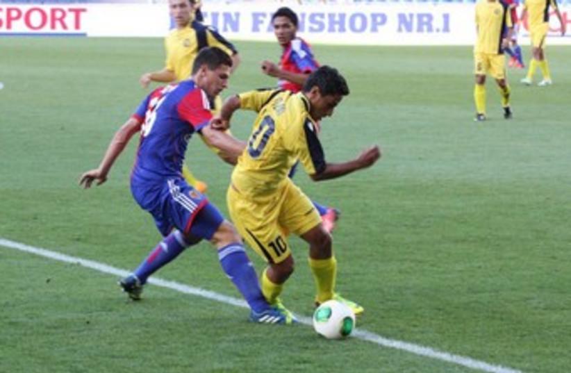MACCABI TEL AVIV striker Barak Itzhaki 370 (photo credit: Maccabi Tel Aviv website)