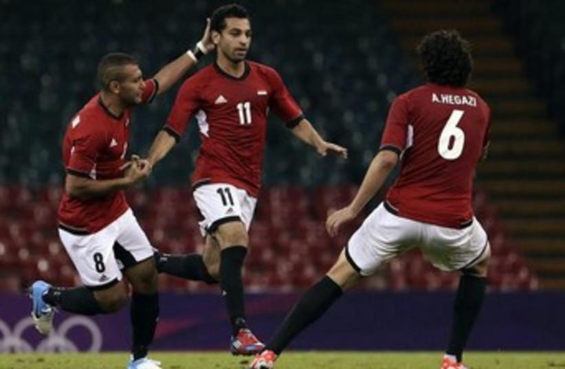 Mohamed Salah 370 (photo credit: REUTERS)