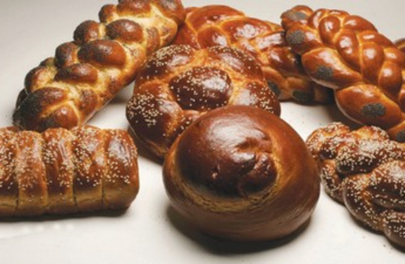 Selection of halla breads (photo credit: Courtesy )