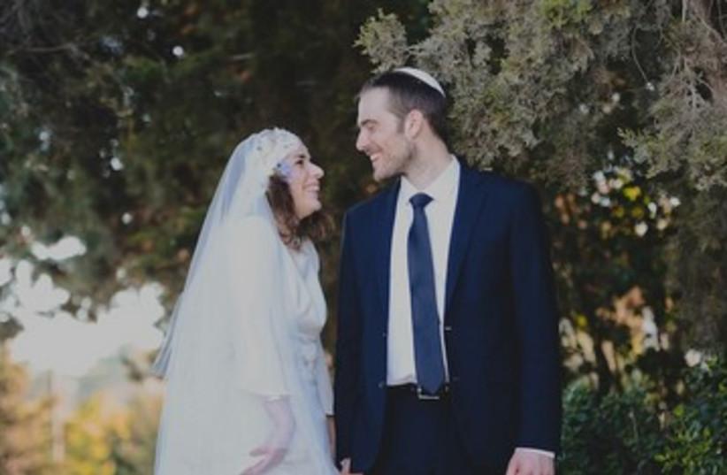 Anya and Daniel's wedding (photo credit: Courtesy)