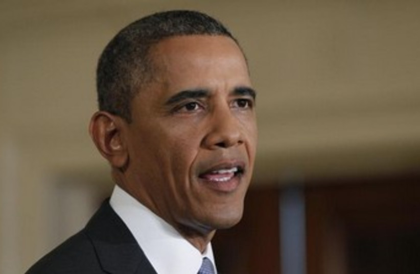 US president Barack Obama 370 (photo credit: REUTERS/Jason Reed)