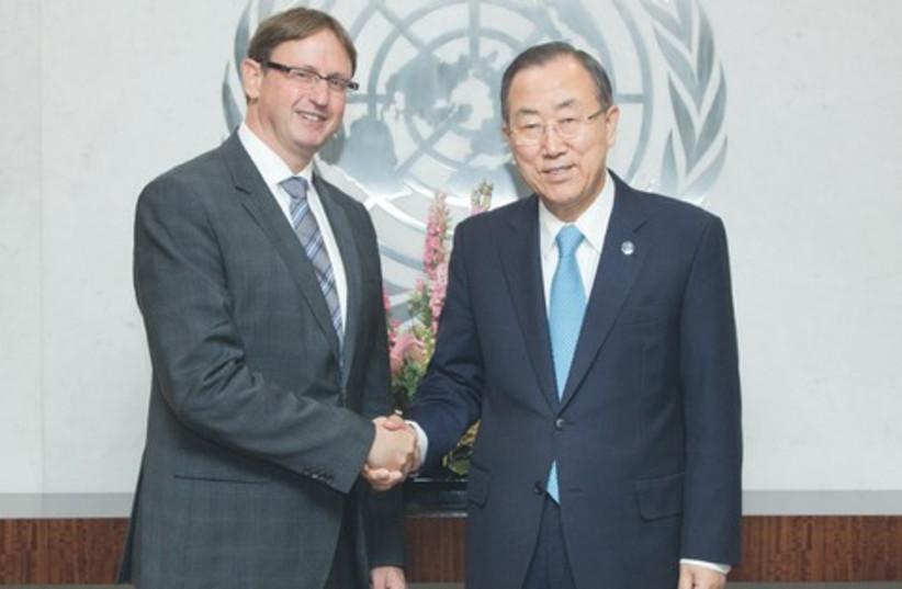 Haim Waxman (photo credit: Israeli Mission to the UN)