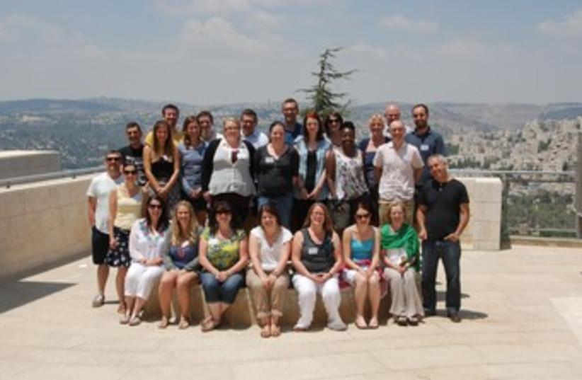UK teachers visit Israel on Holocaust Education training tri (photo credit: Courtesy of  Yad Vashem and the Holocaust Educatio)