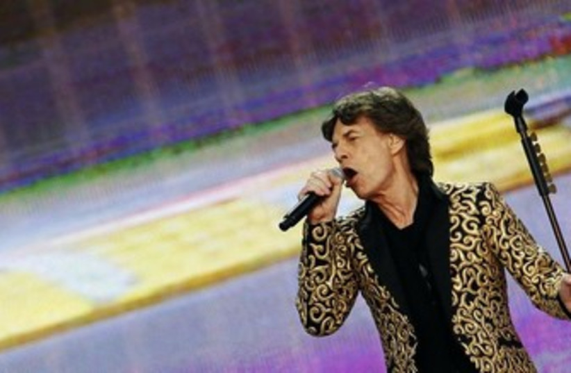 Mick Jagger 370 (photo credit: REUTERS)