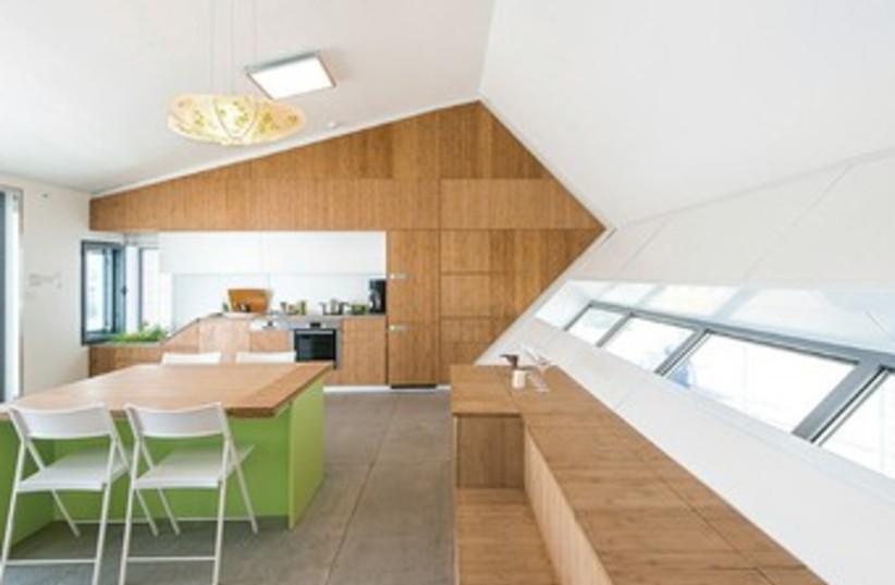 The Israeli eco-house 370 (photo credit: Courtesy Israel Solar Decathlon team)