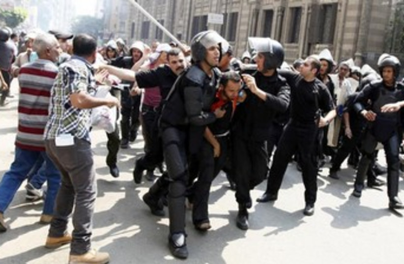 Cairo clashes August 13, 2013 370 (photo credit:  REUTERS/Mohamed Abd El Ghany)