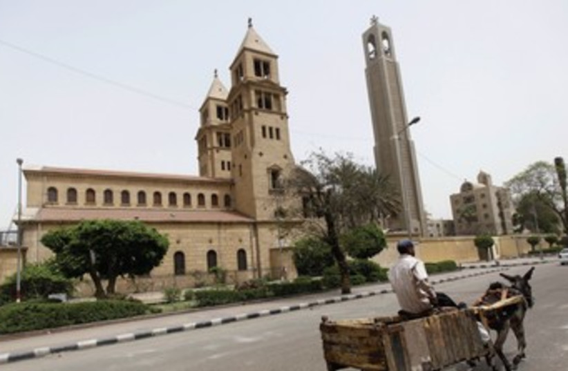 Cairo church in Egypt 370 (photo credit: REUTERS)