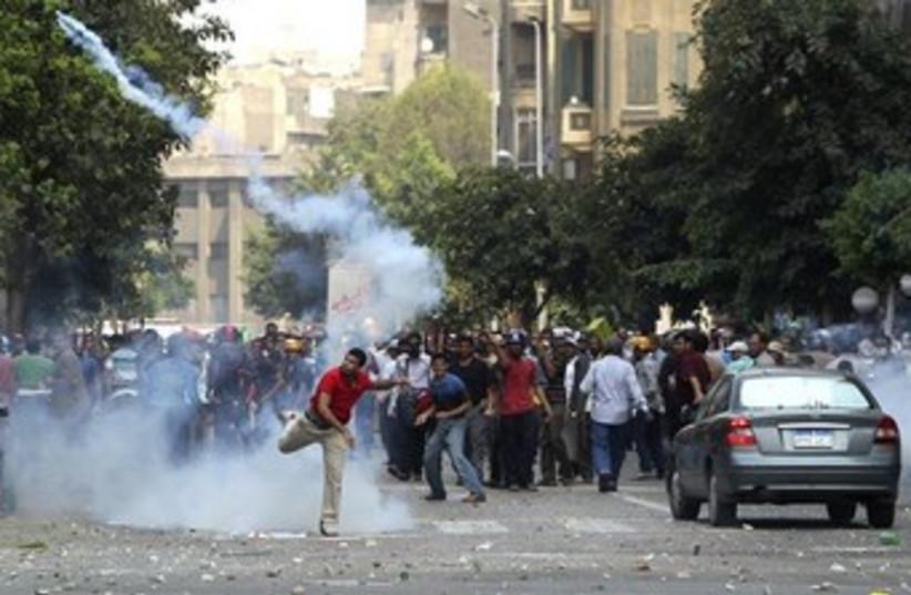 Muslim brotherhood protesters 370 (photo credit: REUTERS)