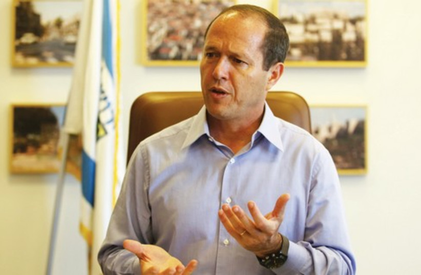 Jerusalem Mayor Nir Barkat 521 (photo credit: Marc Israel Sellem/The Jerusalem Post)