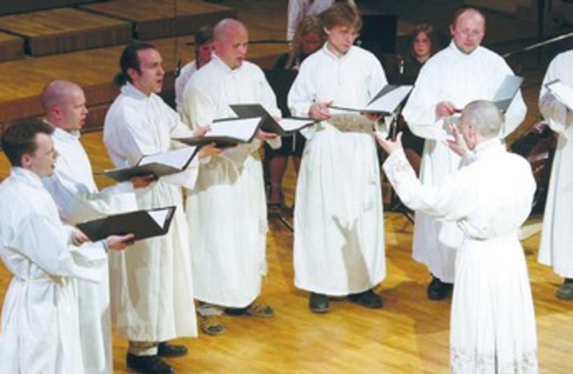 Vox Clamantis Ensemble from Estonia (photo credit: Courtesy)