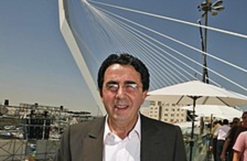 Calatrava  bridge 224.88 (photo credit: AP)