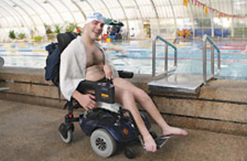 handicapped 88 224 (photo credit: Ariel Jerozolimski)