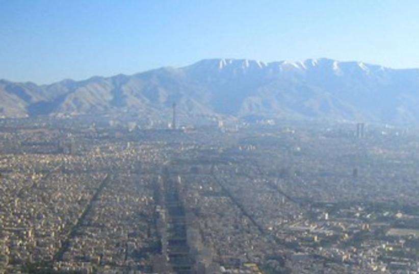 Tehran 370 (photo credit: Wikimedia Commons)