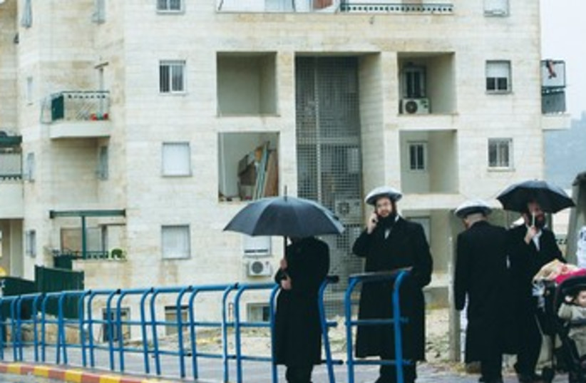 haredim in beit shemesh (photo credit: REUTERS)