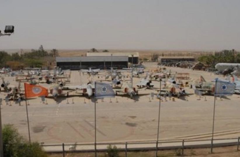 IAF Museum grounds (photo credit: Courtesy IDF Spokesperson)